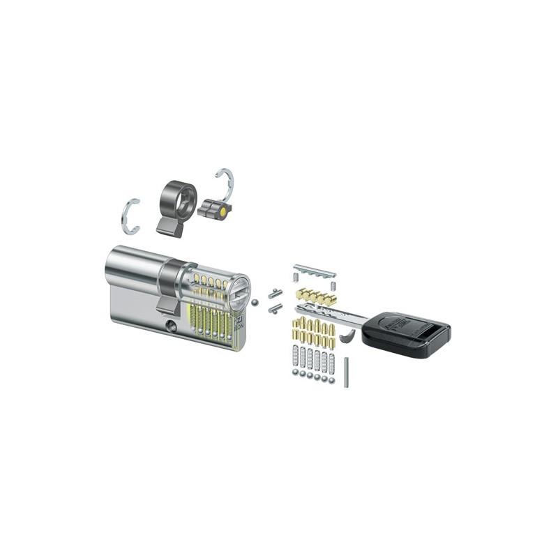 Schließzylinder für Türschloss 62 mm 6 Schlüssel 31//31 Messing